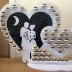 Deluxe Bride & Groom Ferrero Stand