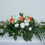Top Table Real Flowers